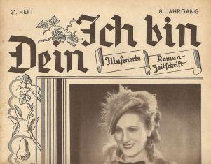 """""""Ich bin Dein"""", Romanzeitschrift aus Leipzig"""