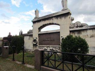 Grab von Rudolph Sack auf dem Plagwitzer Friedhof