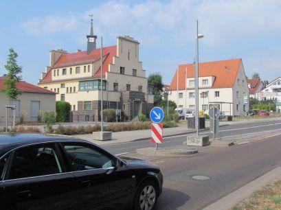 Rathaus Rückmarsdorf an der Merseburger Straße