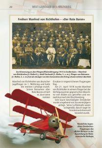 """Seite aus """"West-Leipziger im 1. Weltkrieg"""" (Abb. WA Kolb)"""
