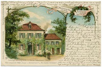 Lortzinghaus vor über 100 Jahren