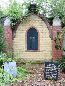 Goetz' Grab auf dem Lindenauer Friedhof
