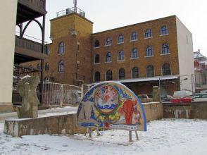 Horns Fabrik im Februar 2012