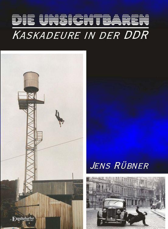 Jens Rübners neues Buch über Kaskadeure (Abb.: Engelsdorfer Verlag)