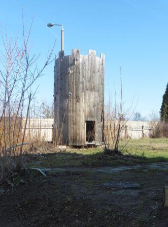 Turm der Burg Stünz