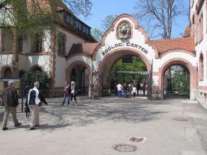 Eingang zum Zoo