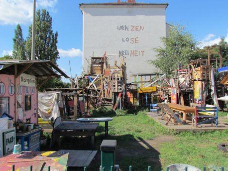 Plagwitzer Bauspielplatz am alten Standort, September 2012