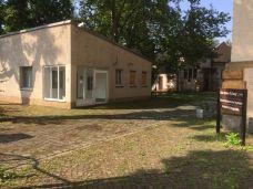 Pförtnerhäuschen in der Rietschelstraße (ehem. Friesen-Krankenhaus)