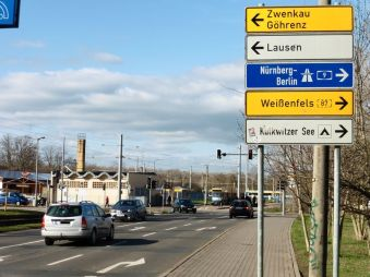 Ratzelstraße kurz vorm Kulkwitzer See