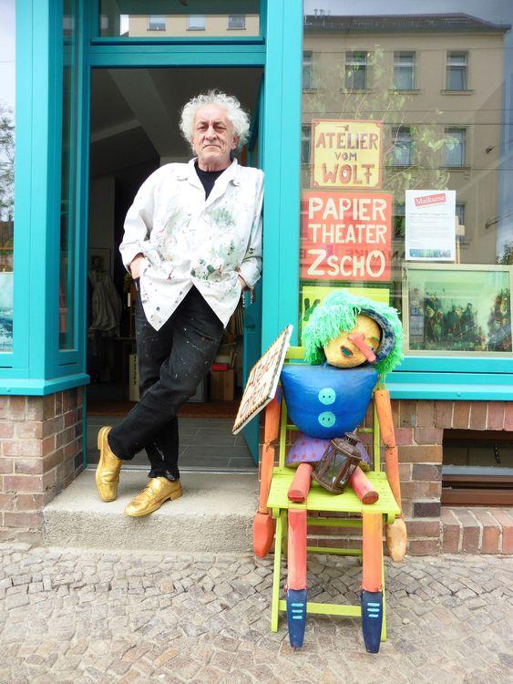 Wolf-Dieter Trümpler und Pinocchio