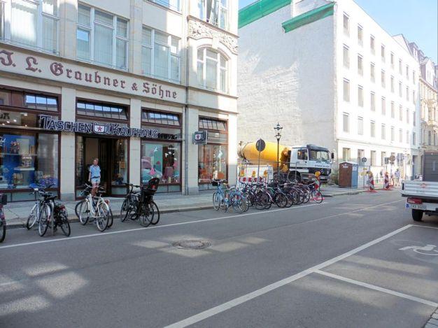 In den 1980ern gab es in der Ritterstraße eine Pizzeria