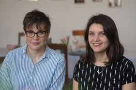 Claire und Verena (v.li., Foto: Katharina Gless)