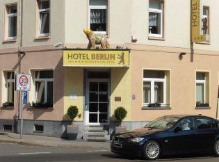 Hotel Berlin in der Riebeckstraße