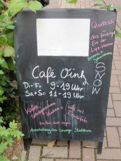 Café Oink an der Zschocherschen Straße