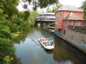 Schöner Platz am Riverboat