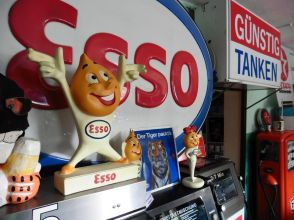 Esso-Werbung