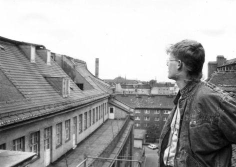 1990er, Blick vom Grönländer in Richtung Burgstraße