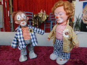 Clown-Ferdinand-Figuren (Foto: Jens)