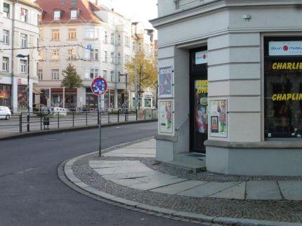 Clown-Museum an der Ecke von Crottendorfer und Breiter Straße