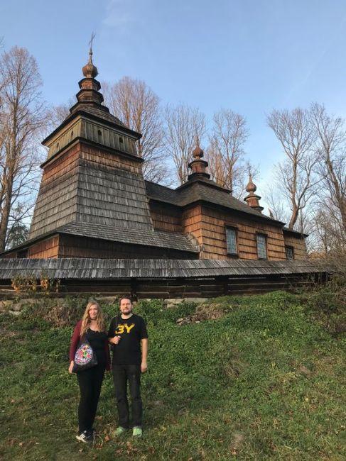Henrietta und Bartek in den polnischen Beskiden (Foto: privat)
