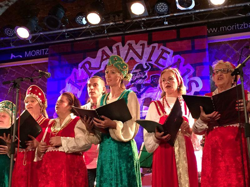 Chor Slavia in der Moritzbastei