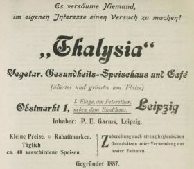 Thalysia-Werbung von 1899 im Leipziger Handels- und Industrie-Adressbuch