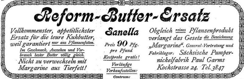Thalysia-Werbung von 1907 in der LVZ