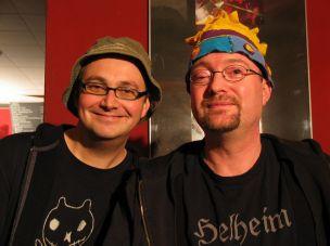 André Kudernatsch und Volly Tanner 2010 im Helheim