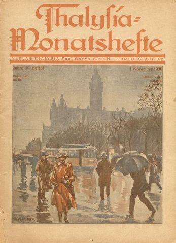 Thalysia-Monatsheft vom November 1930