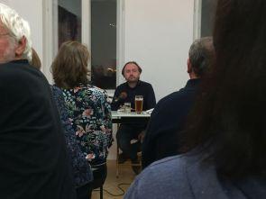Michael Schweßinger am 14.12. in der Galerie Artae