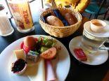 Spätes Frühstück im Spizz