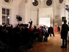 Kulturprogramm mit Meigl in der Aula