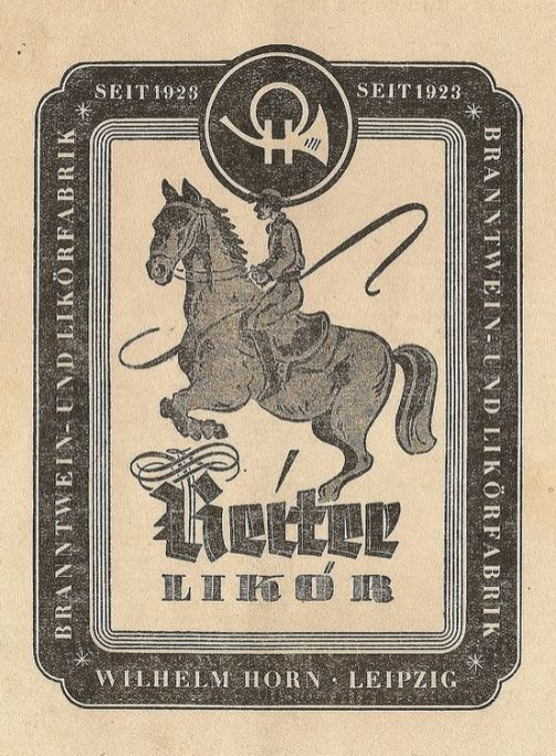 Horn-Anzeige von 1953