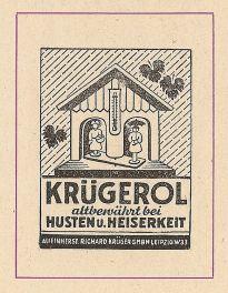 Krügerol-Anzeige vom Februar 1964