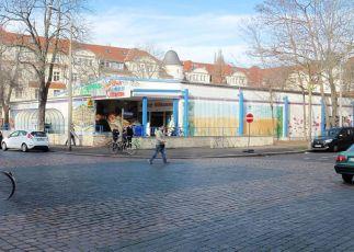Kaufhalle in der Gregor-Fuchs-Straße