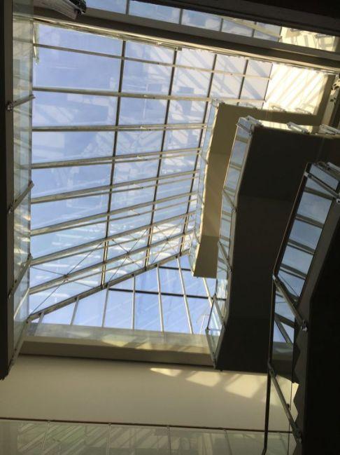Licht im Treppenhaus