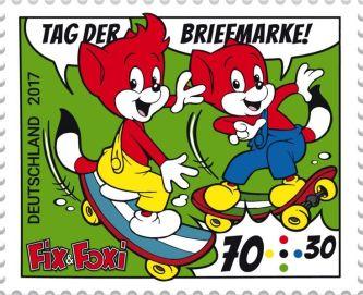 Brief- bzw. Wohlfahrtsmarke der Deutschen Post