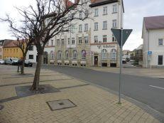 Eingang zur Hordisstraße in Markranstädt