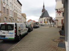 Blick aus der Hordisstraße zum Markranstädter Markt
