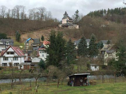 Die Schwarzaburg über Schwarzburg