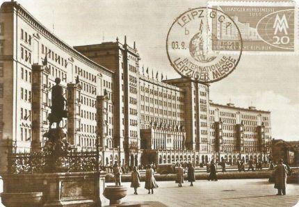 Das Ring-Cafe Ende der 1950er Jahre auf einer Postkarte (Archiv J.R.)