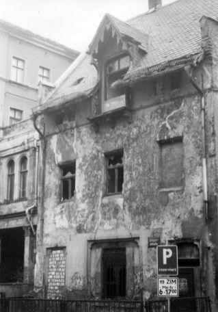 Eingang zur Chopinstraße 1987
