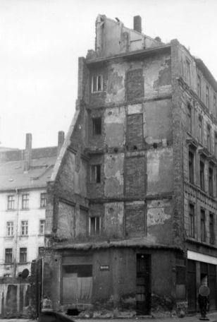 Eingang zur Karlstraße 1987