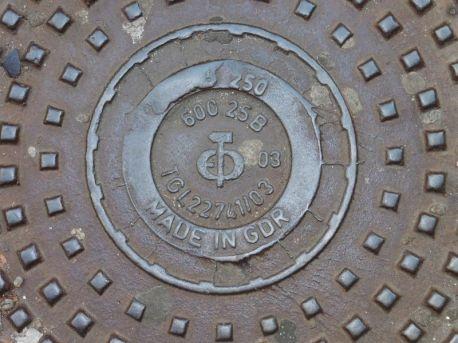 Made in GDR (mit Hammersymbol)