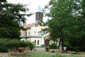 Kapelle auf dem Lindenauer Friedhof