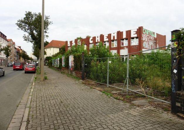 Union- bzw. Backhefe-Verwaltungsgebäude in der Mockauer Straße