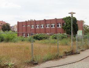 Union- bzw. Backhefe-Verwaltungsgebäude, Ansicht von hinten