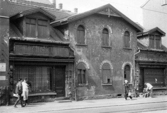 Zschochersche bzw. damals Philipp-Müller-Straße 46 im Jahr 1986