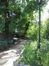 Partie am Samuel-Hahnemann-Denkmal