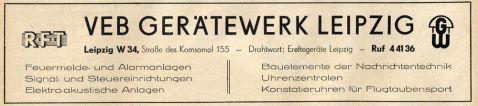 Horn-Nachfolger 1957 im Branchenfernsprechbuch des Bezirks Leipzig